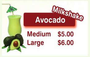 AvocadoMilkShakeU